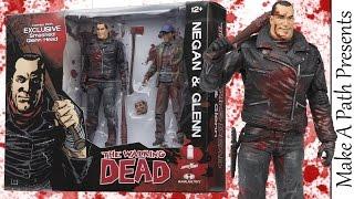 "NEGAN & ""Death"" GLENN SDCC Figure 2 Pack Set - The Walking Dead"