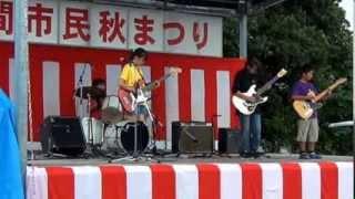 2013.11.3 串間市民秋まつりにて ベンチャーズメドレー、クル...
