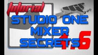 Studio One Pro Mixer Secrets Rivelati Tutorial Ita