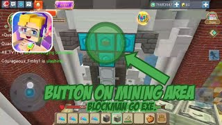 Iron Button on Mining Area? (Skyblock) Short Funny Video! (Blockman Go: Blocky Mods)