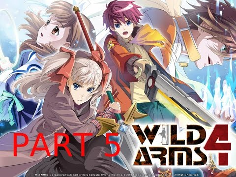 Rixie Plays: Wild ARMs 4 - Part 5: Great Stairway, White Orphanage (1)