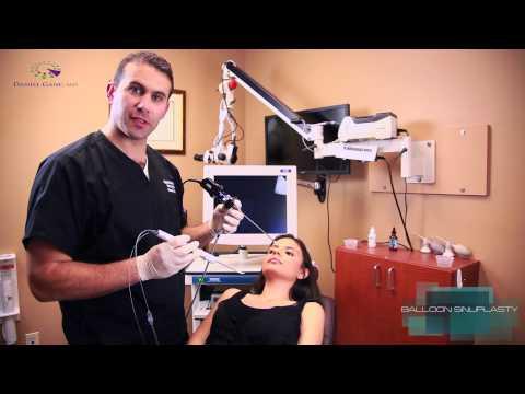 Balloon Sinuplasty Demonstration - Sinusitis Treatment - by Daniel Ganc, MD - Boca Raton, FL