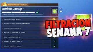 DESAFIOS SEMANA 7 COMPLETO *FILTRADO* | TEMPORADA 4 | FORTNITE: Battle Royale