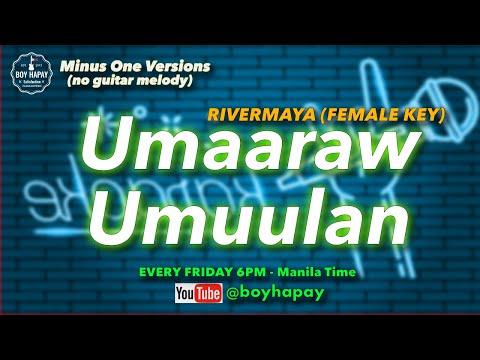Zia Quizon - Umaaraw Umuulan (Rivermaya) Acoustic Minus One cover