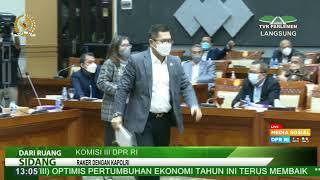 LIVE STREAMING - KOMISI III DPR RI RAKER DENGAN KAPOLRI