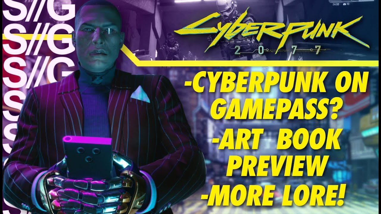 Cyberpunk 2077 News! Art Book SNEAK PEEK! Character Reveals! Lore Update!