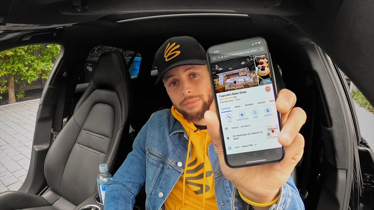 Stephen Curry supports Oakland's Black-owned businesses with Google