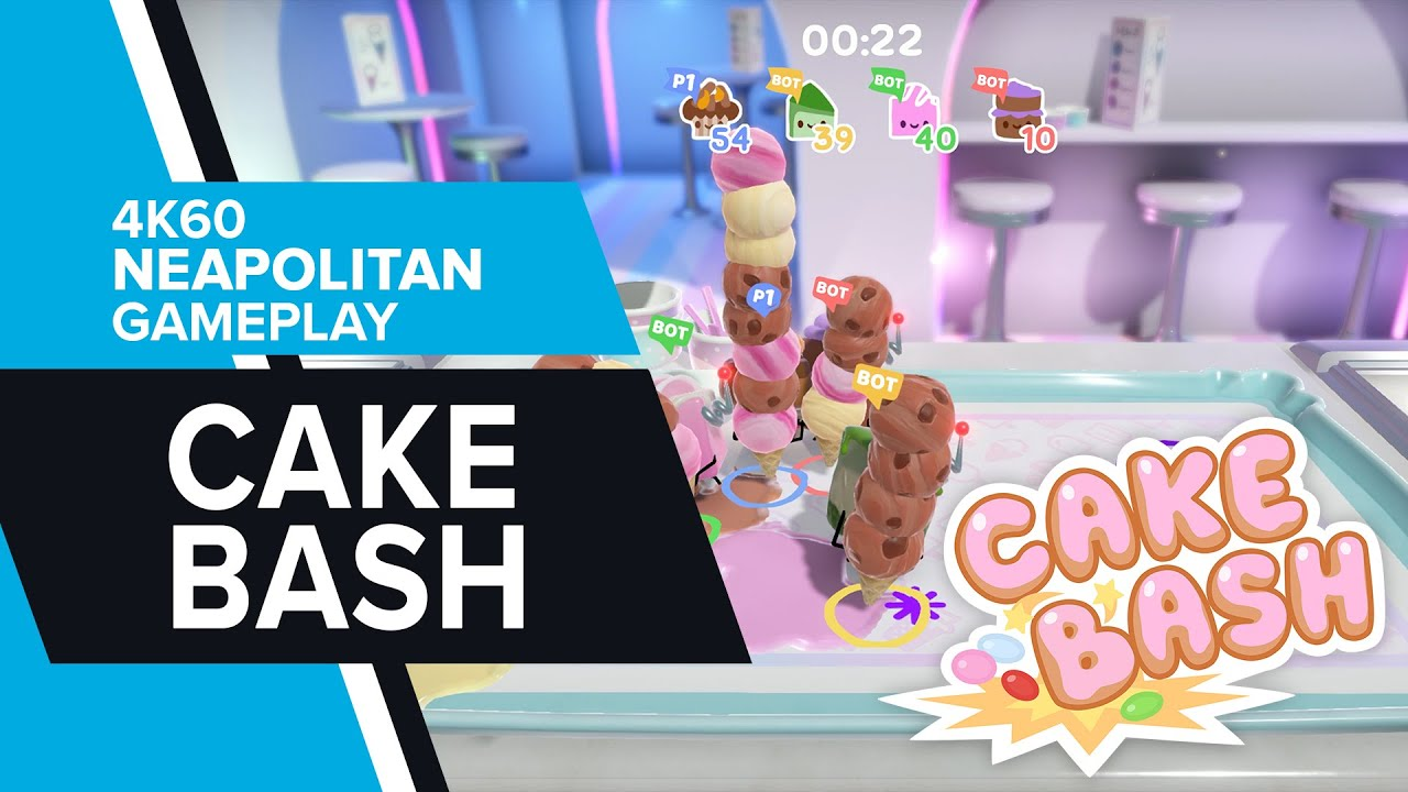 Cake Bash - 'Neapolitan' 4K60 Gameplay
