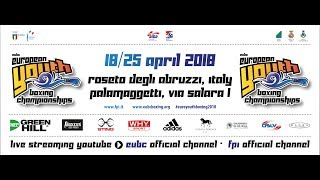 EUBC Youth European Boxing Championships 2018 Semifinals Ring B 24042018 1400