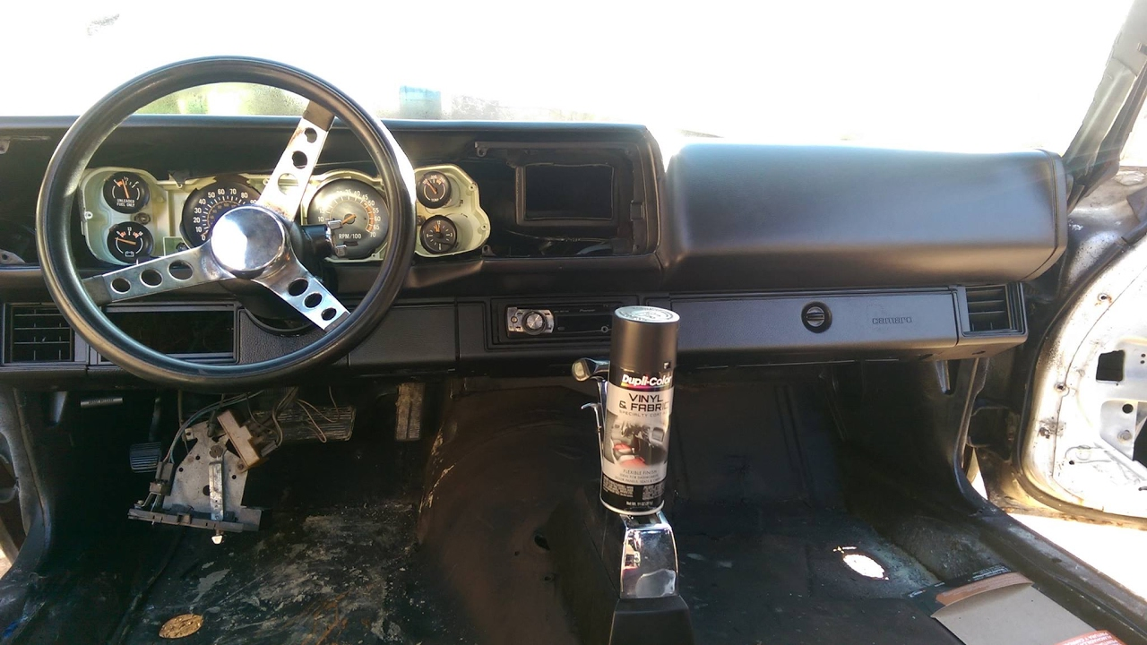 How To Paint Your Dashboard With Dupli Color Vinyl