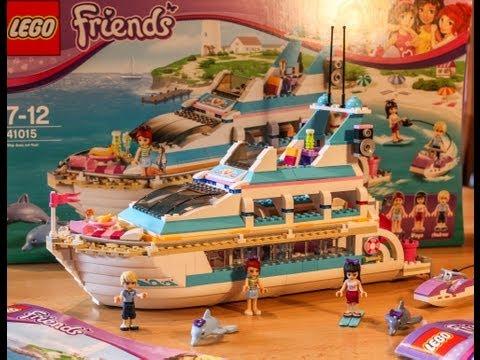 Test Yacht / Dolphin Cruiser (LEGO Friends Set 41015)