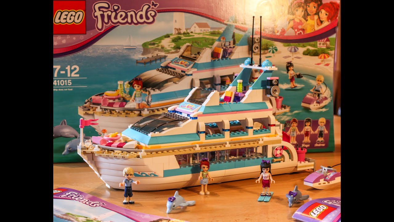 Test Yacht Dolphin Cruiser Lego Friends Set 41015 Youtube