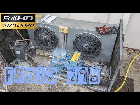 Froid298-Groupe de condensation en défaut et il y a 2 pannes-panne électrique-panne HP-dépannage
