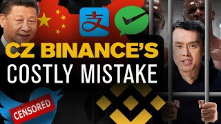 CZ Binance's HUGE Mistake! They're Trying to CENSOR This Story!!