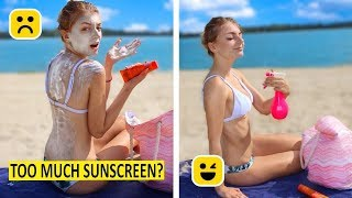 Easy Girls DIY! GENIUS Beach Life Hacks You Must Know