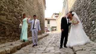 СВАТБА ПЛОВДИВ ВИДЕО ЗАСНЕМАНЕ16 08 2013 Wedding Swatben klip Стела и Николай Тошкови