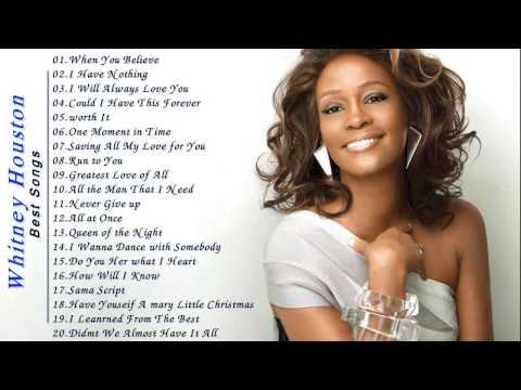Whitney Houston Greatest Hist - Best Songs Of Whitney Houston Full Album Live 2017