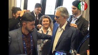 TeleVideoItalia.de - Intervista ad Andrea Bocelli