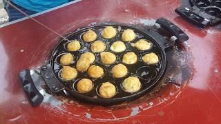 Indonesia Unique Food - Kerak Telor Batam / Takoyaki✔
