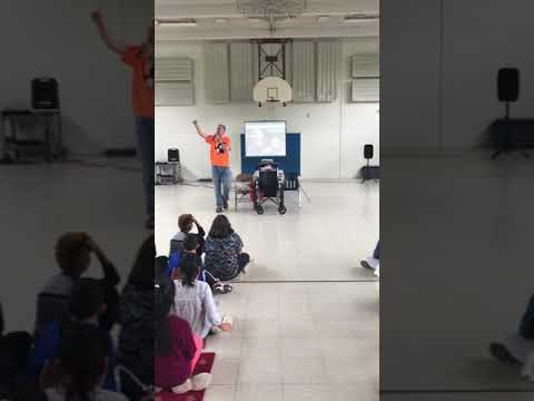 Mr. Peace Raps about Kindness at Great Plain Elementary School in Danbury, Connecticut