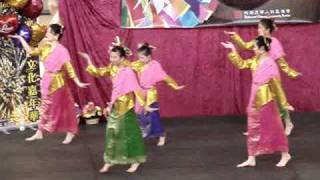 Traditional Malaysian Inang dance @ 2009 Asian Heritage Fair in Richmond, BC Canada