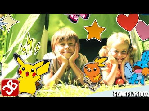 Download Youtube: Camp Pokémon (By THE POKEMON COMPANY INTERNATIONAL) - iPhone/iPad/iPod Touch - Gameplay Video