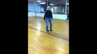 How to Roller Skate: turn from backward to forward
