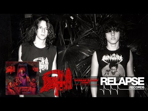 "DEATH - ""Baptized in Blood"" (Official Track)"