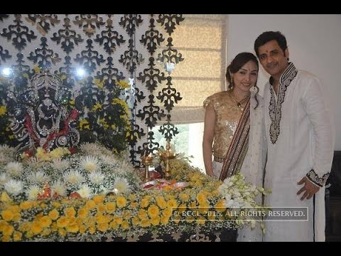 Ganesh Hegde celebrates Ganesh Chaturthi with family and friends - TOI