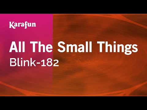 Karaoke All The Small Things - Blink-182 *