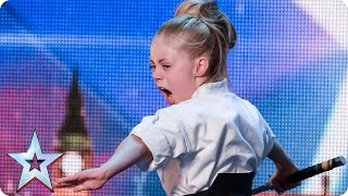Don't mess with karate kid Jesse | Audition Week 2 | Britain's Got Talent 2015 thumbnail