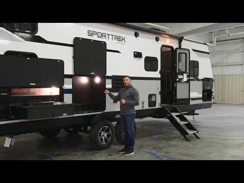 2020 Venture RV SportTrek ST281VBH Lightweight Travel Trailer Exterior