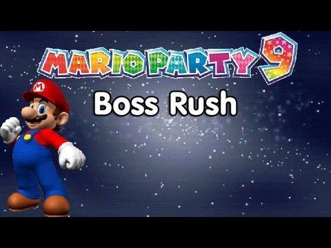 Mario Party 9 Mini Game Mode Boss Rush Youtube