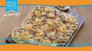 Shrimp Flatbread
