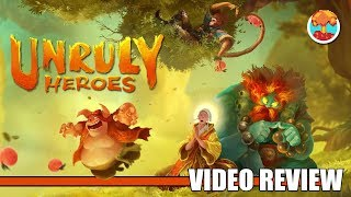 Review: Unruly Heroes (Switch, PlayStation 4, Xbox One & Steam) – Defunct Games