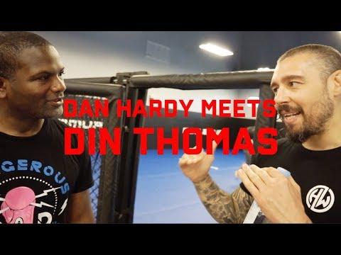 DAN HARDY MEETS DIN THOMAS AT ATT