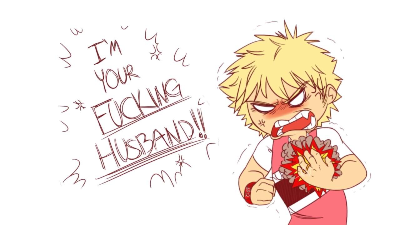 My Husband Bakugou My Hero Academia Comic Dub YouTube
