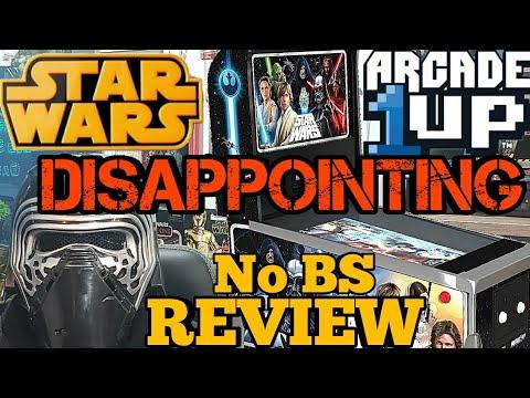Arcade 1Up Star Wars Pinball Review from Turbo Joe