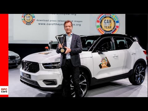 Volvo XC40 Awarded 2018 European Car of the Year - Geneva Mo