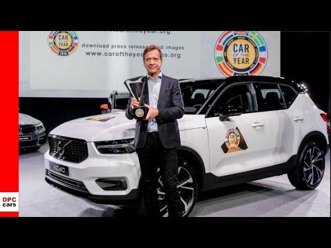 Volvo XC40 Awarded 2018 European Car of the Year - Geneva Motor Show