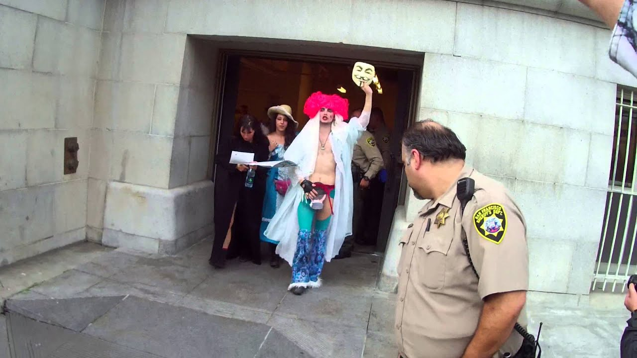 Part II of San Francisco Nudity Ban Protest on December 4