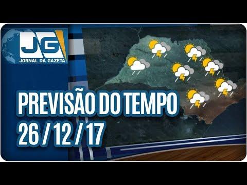 Previsão do Tempo - 26/12/2017