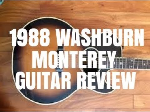 1988 Washburn Monterey Guitar Review By Scott Grove