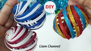 How to make Christmas Ornaments | Christmas decoration ideas | Liam Channel