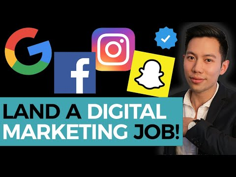How To Get a Digital Marketing Job with NO Experience | My Journey & Tips