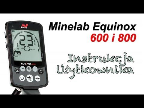 Minelab Equinox 600 i 800 Instrukcja