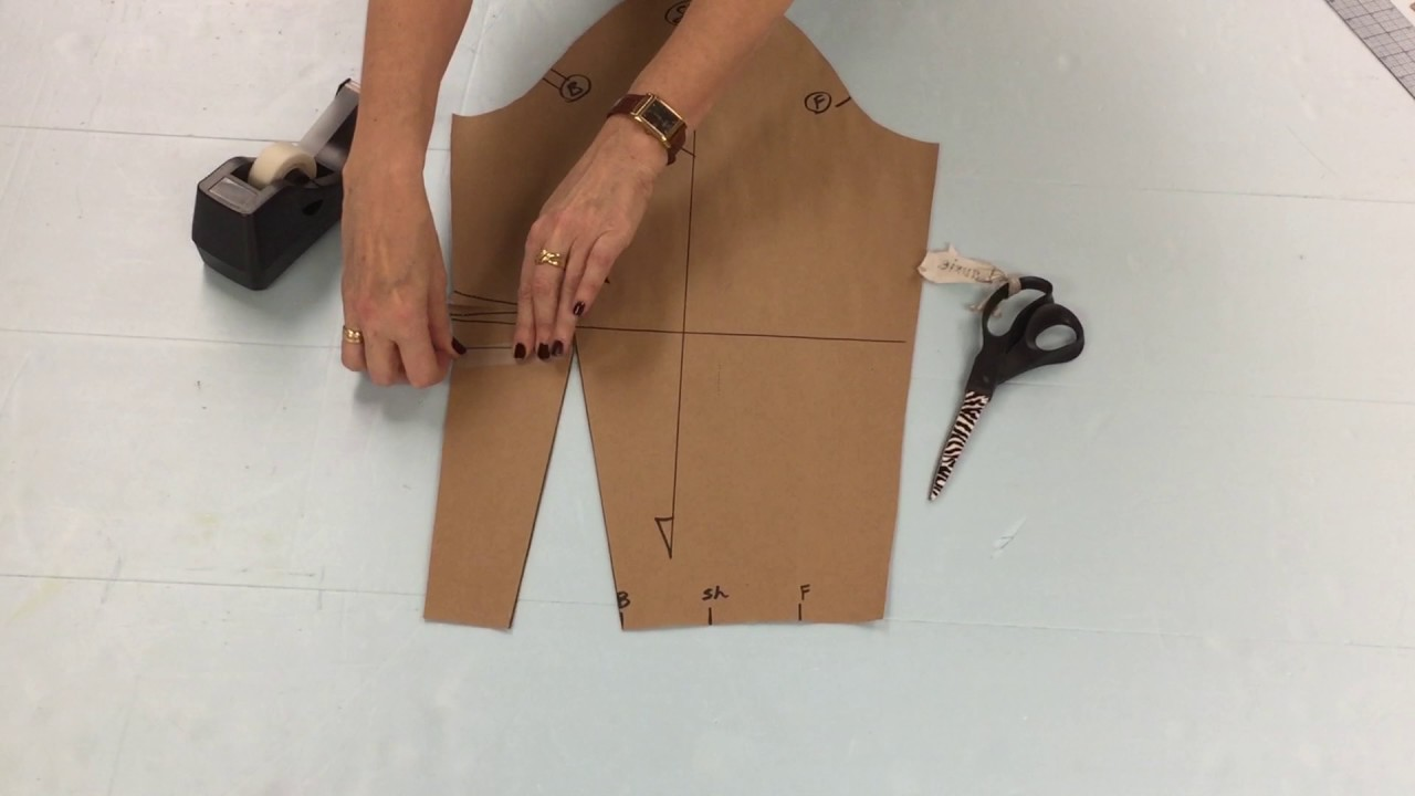 89afaa9201dc How to pattern the Leg O' Mutton Sleeve - YouTube