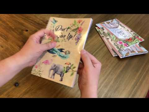 Notebook for 2017 'Don't Give Up!' Convention of Jehovah's Witnesses