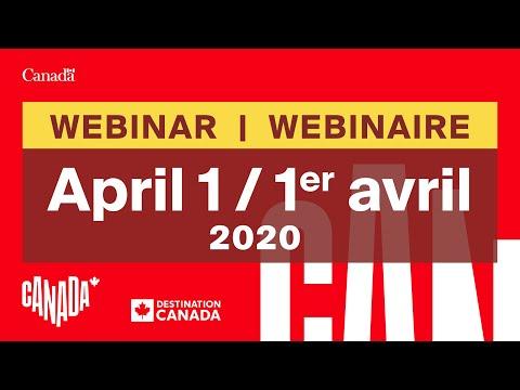 Industry Webinar (April 1, 2020) / Webinaire Pour L'industrie (le 1er Avril 2020)