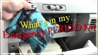 RH's Emergency Period Kit - Reusable Menstrual Products Video